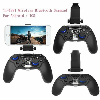 New TI-1881 Wireless Bluetooth Gamepad Controller Joystick for Android IOS Black