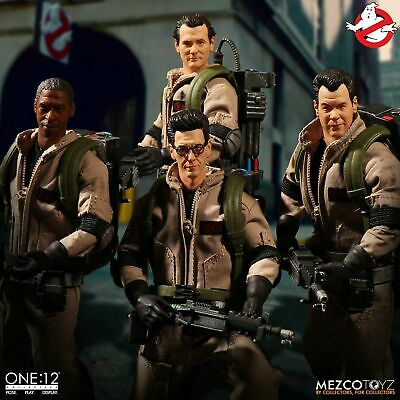 Mezco Ghostbusters One:12 Collective Deluxe Box Set New In Stock