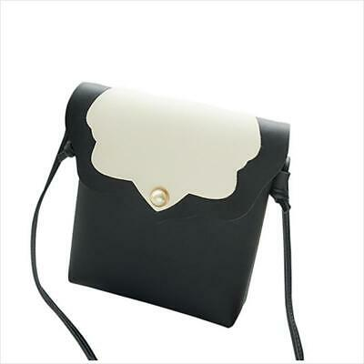 Portable Handbag Shoulder Bag PU Small Crossbody Messenger Purse Bag HD