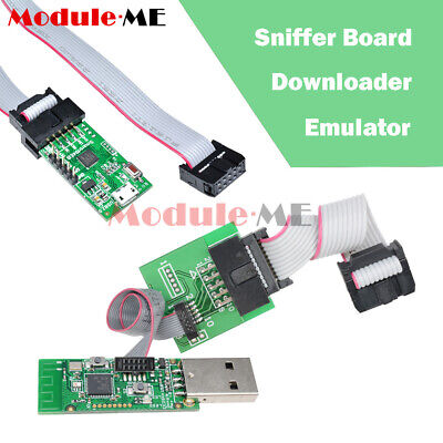 CC2531 CC2540 Sniffer Board Interface USB Dongle BTool Downloader Cable Emulator