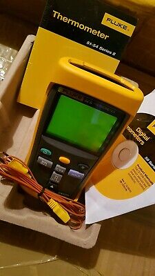 Genuine Fluke 52 II Dual Input Digital Thermometer. Unused!