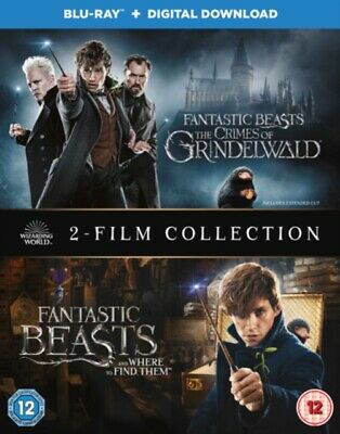 Fantastic Beasts Two Film Collection BLU RAY *NEW & SEALED*