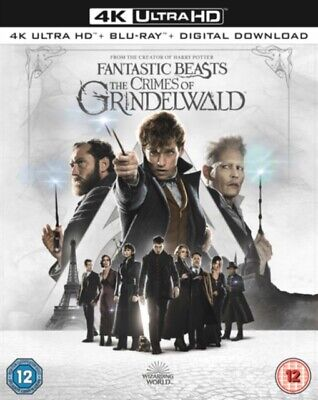 Fantastic Beasts: The Crimes Of Grindelwald BLU RAY *NEW & SEALED*
