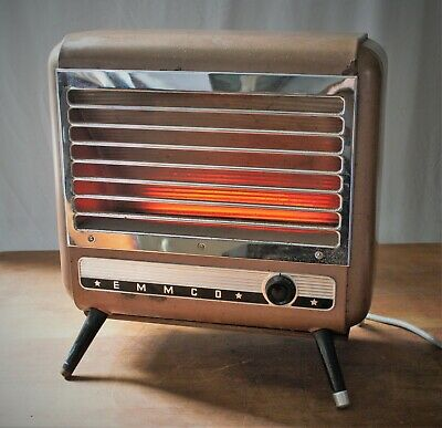 Vintage Heater Funky Retro EMMCO G8 For Film Set/Theatre Prop Working