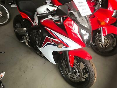 Honda CBR 650 FA-E Red and White New Tyres Just Serviced