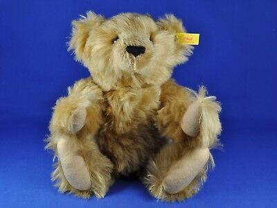 Steiff: Classic Teddy Bär / Bear 1903, 000188, KF / button + flag, Mr. Cinnamon