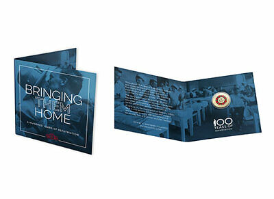 2019 100 Years of Repatriation Bring Them Home $2 Coin UNC C Mintmark on carded