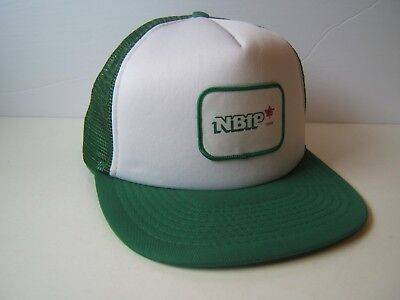 ac67f43857b4d NBIP 1986 Patch Hat Vintage Green White Snapback Trucker Cap