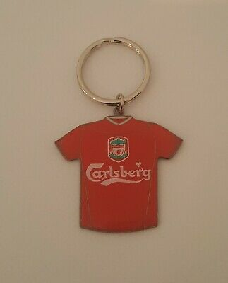 Liverpool Fc - Keyring # Metal Shirt # Official Fast Free Post