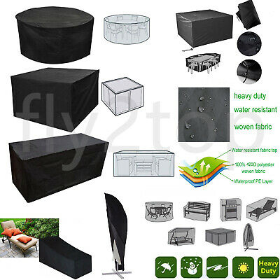 Garden Patio Furniture Set Cover Waterproof Covers Rattan Table Cube Outdoor 420
