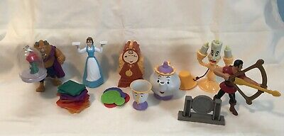 Disney Mcdonalds Beauty And The Beast Figures Great Condition