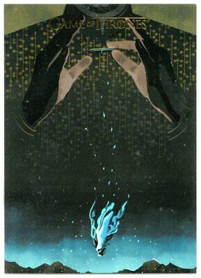 Game Of Thrones Season 5 Bd37 Beautiful Death Poster Art Gold Parallel 119/150