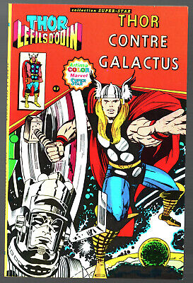 THOR LE FILS D'ODIN n°2 ¤ CONTRE GALACTUS ¤ ARTIMA COLOR MARVEL SUPER STAR