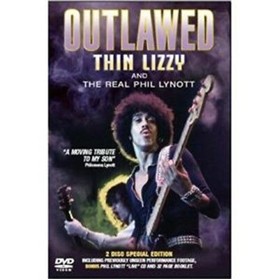 Thin Lizzy - Phil Lynott Outlawed [Special Edition] DVD+ cd -  $ 1.99  Shipping