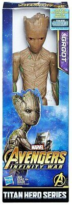 "Marvel Avengers Infinity War Titan Hero Series Groot 12"" Action Figure"