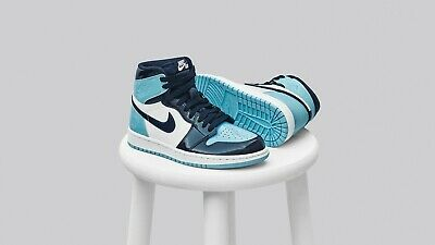 e4b428e65cba84 Nike Air Jordan 1 Retro High Blue Chill UNC CD0461-401 Wmns size 9 Mens