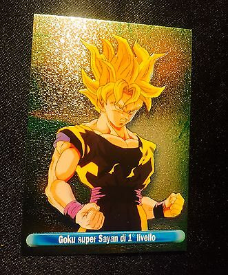 Carte Dragon Ball italy card anthologia panini double prism luxe N*A italie GT