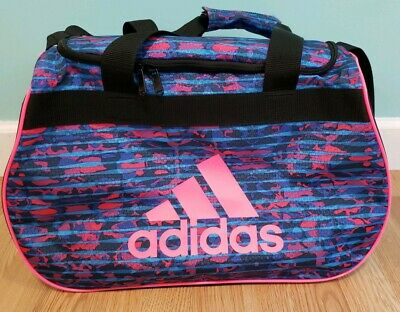 2bfddcfe57ac1a New without tag ADIDAS womens Pink Multicolor Kapow diablo Small Duffel GYM  BAG