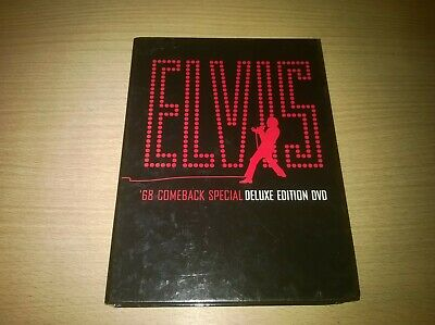 Elvis '68 Comeback Special Deluxe Edition 3 Disc Set Genuine R2 DVD VGC OOP