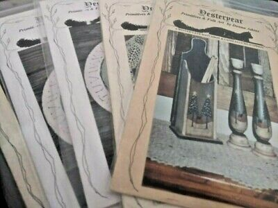 BUY 3 Get 1 FREE SALE Yesteryear Atkins Decorative Painting Tole Pattern Packet