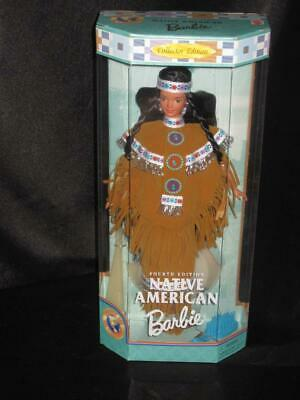 1997 Native American Barbie Doll DOTW 4th Edition Collector Edition #18558 NRFB