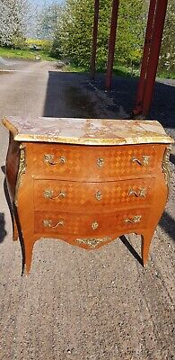 french Louis XV style bombe commode