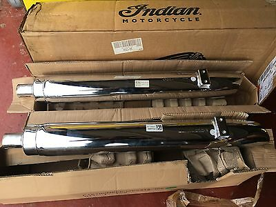 2014-18 Indian Chief Motorcycle Left & Right Standard Exhaust