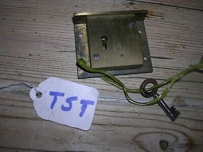 Brass Hobbs & Co. Drawer Lock & Key (T5T)