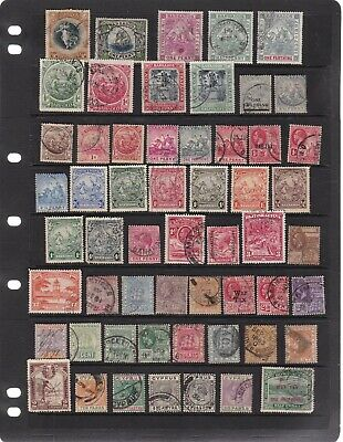 British Colonies Queen Victoria - Kgv Era Used - High Cv