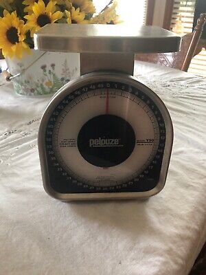Pelouze Dymo Monarch Y50 50 Lb. Portable Mechanical Postal Scale
