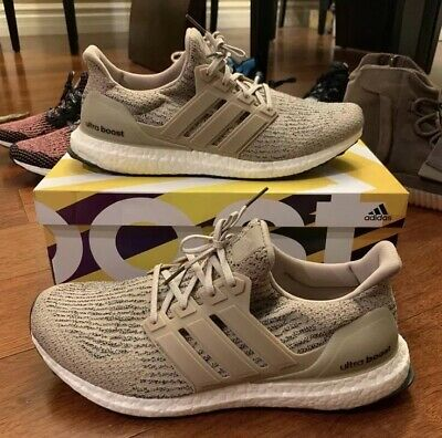 ADIDAS ULTRA BOOST 3.0 Sz 11 Trace Khaki Clear Brown Tan