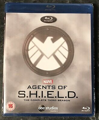 Marvel Agents Of Shield Complete Season 3 (5-Disc Bluray Set) New & Sealed Mint