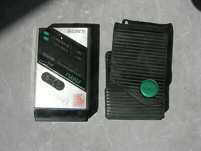 Vintage Sony Walkman Rare Model WM-F100 Cassette Player AM/FM Radio