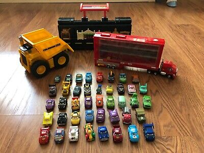 Huge Disney Pixar Mattel Cars Micro Drifters Mini Racers Lot- 42 cars + more