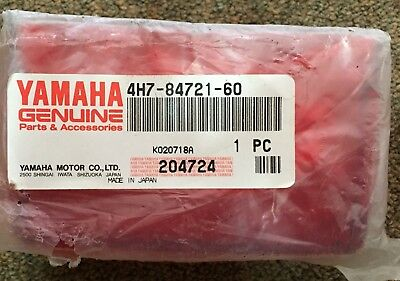 Yamaha Riva Xc125 1985-2001 Xj650/Xv750 80-81 Brake Light Lens Nos.