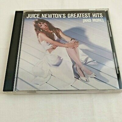 Juice Newton Greatest Hits And More Music CD 1987 Country Pop
