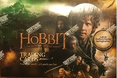 The Hobbit Battle of the Five Armies Sealed Hobby Trading Card Box