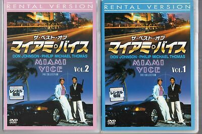 The Best of Miami Vice the collection 2disc set[JAPAN OFFICIAL DVD]Region2]
