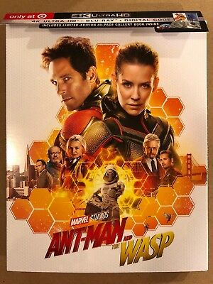 Ant-Man and the Wasp (4K Ultra HD Disc ONLY) w/ TARGET EXCLUSIVE CASE! SEE INFO!
