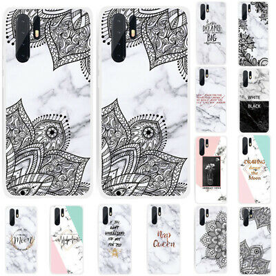 For Huawei P30 Pro P30 Lite P30 Marble Silicone Painted Soft TPU Back Case Cover