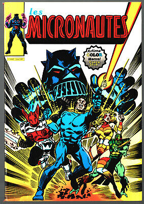 LES MICRONAUTES n°1 ¤ 1980 ARTIMA COLOR MARVEL SUPER STAR