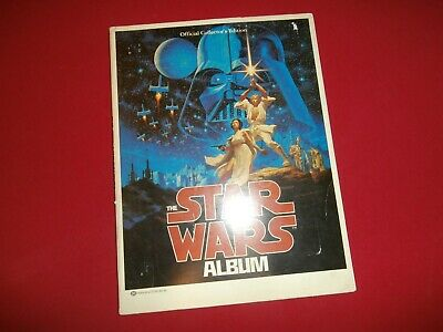 Vintage THE STAR WARS ALBUMOfficial Collector's Edition 1977 1st Printing