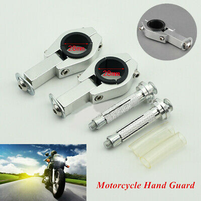 Aluminum Alloy Motorcycle Hand Guard Mounting Bracket Handguard Clip with Screws