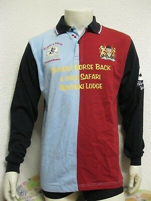 Ancien POLO MAILLOT QUINZE & TREIZE THE KING OF GAMES KENYA RUGBY UNION Jersey