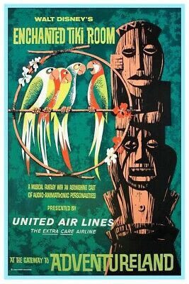 Enchanted Tiki Room - Collector Poster 4 Different Sizes  (B2G1 Free!!)