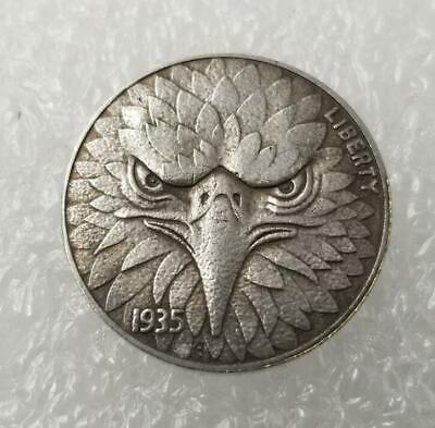 1935 Wanderer Morgan Silver Foreign Currency Coin Commemorative Collection Eagle