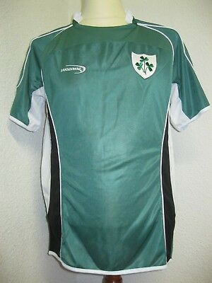 Ancien MAILLOT LANSDOWNE EQUIPE XV D'IRLANDE RUGBY IRELAND IRB World Cup Jersey