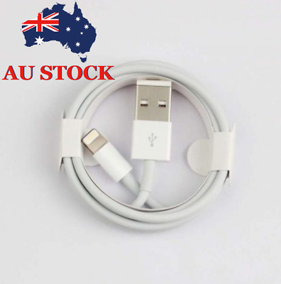 Certified 1M USB Lightning Cable Cord Data For Apple Charger iPhone iPad AU STK