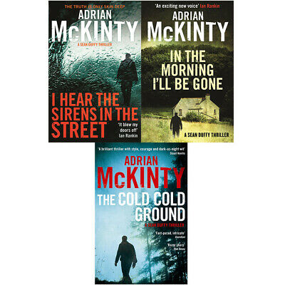 Detective Sean Duffy series Cold Cold Ground, I Hear 3 books collection set PB