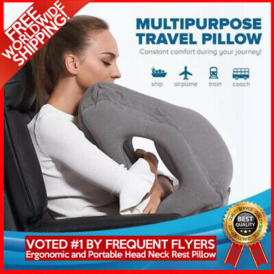 Travel Pillow Inflatable Sleepy Cloud Air Soft Cushion Trip Portable Innovative